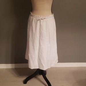 H&M Linen Blend Skirt Size 10